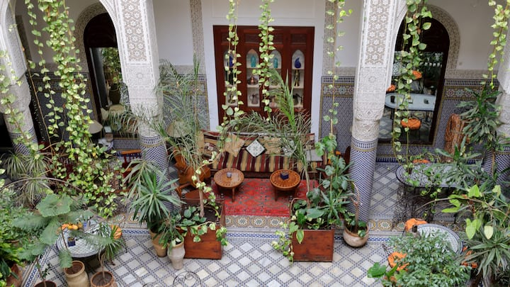 Riad Al BARTAL et table d'hôtes Fès
