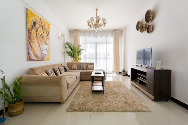 Modern Serviced Secure 3 B.Room Apartment Kilimani