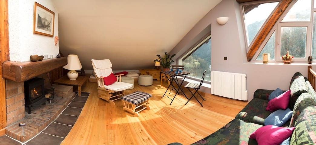 Le Nid de l'Aigle - Abriès - Apartment