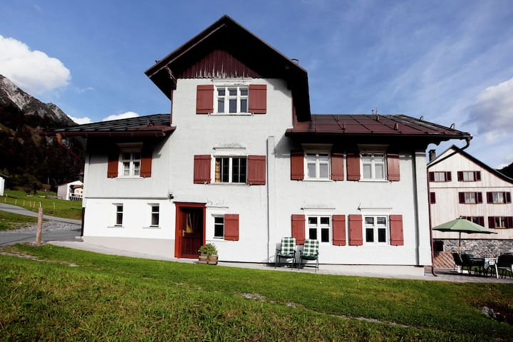 Spacious Mansion in Wald am Arlberg with Private Garden