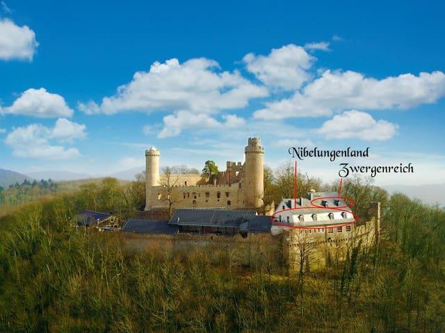 Fewo Nibelungenland auf Schloss Auerbach