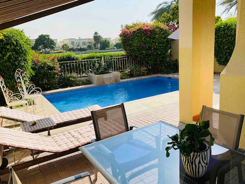 Luxury 2+1 Bedrooms villa with PVT swimming pool