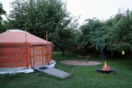The yurt, nature in the heart of the city