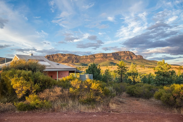 Rawnsley Park Station Eco Villas, Flinders Ranges.