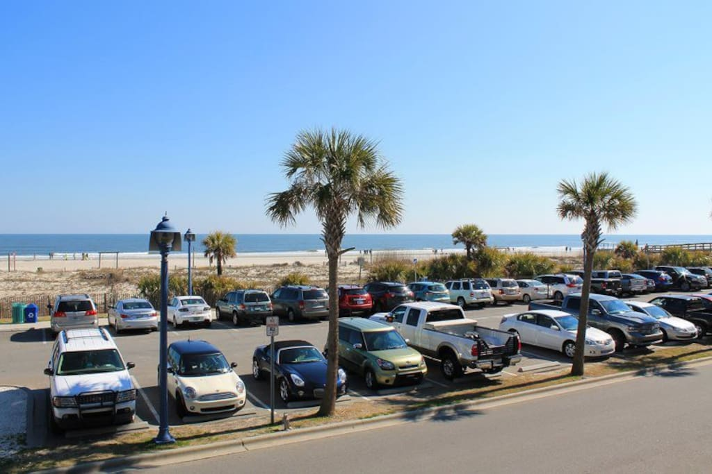 Enjoy the Sights, Sounds, Ocean Breezes and panoramic views of Tybee Beach and the Atlantic Ocean