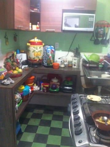 cocina disponible para el huesped.