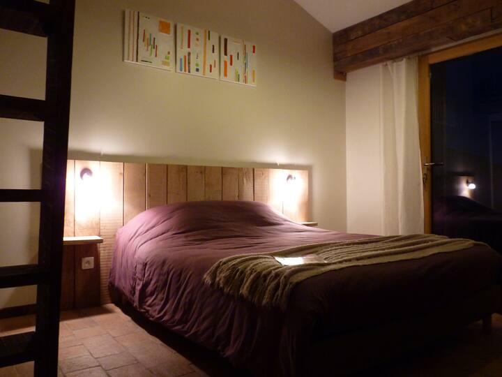 Chambre cosy entre Nantes et Le Puy du Fou
