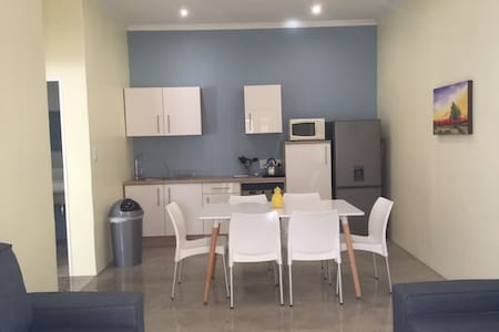 Secure family accommodation in quiet Eros