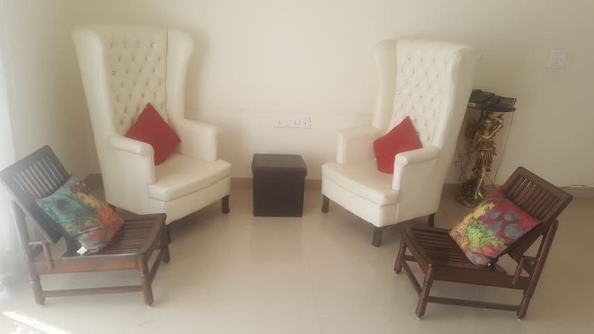3BHK Furnished Spacious Apartment near Chandigarh