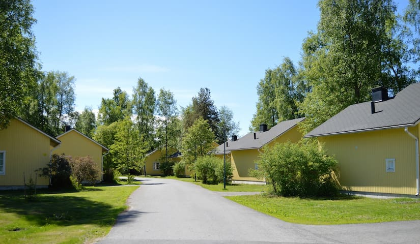 Pooki cottages in summer