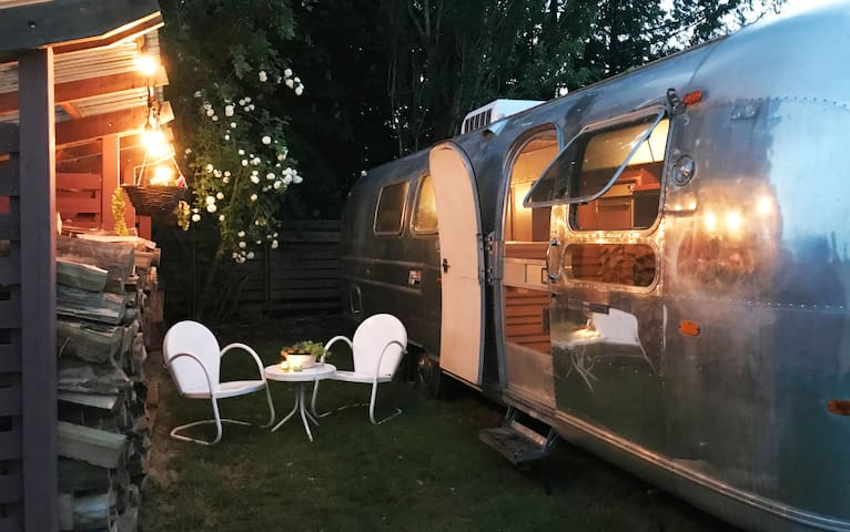 Vintage Airstream in the Heart of Edison