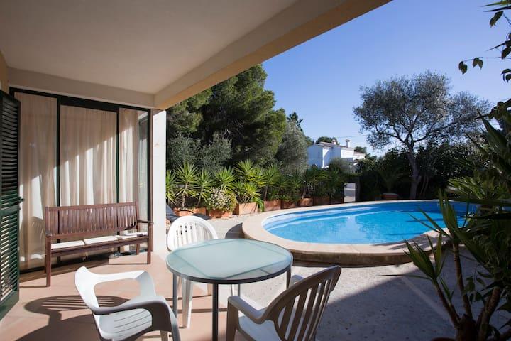 PINARES House w/ POOL & BBQ - CALA PI - Cala Pi - Dom