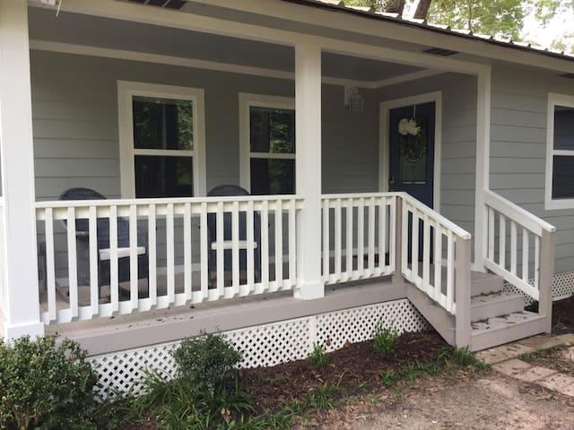 Welcome to our newly remodeled cabin!
