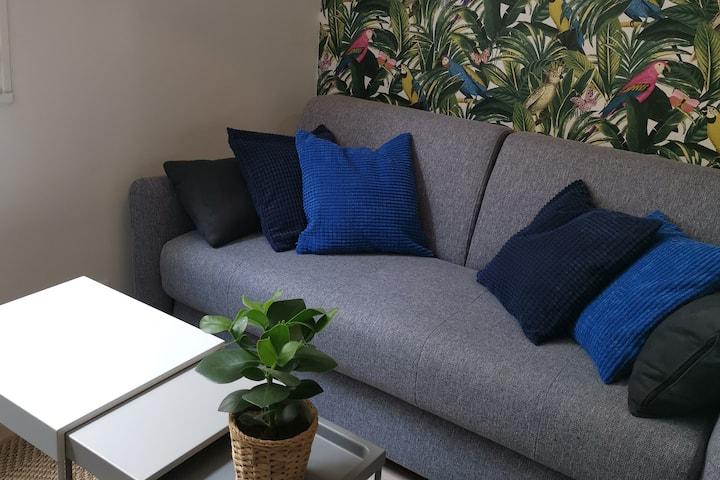Jungle Studio en Intramuros avec TV et Wi-Fi