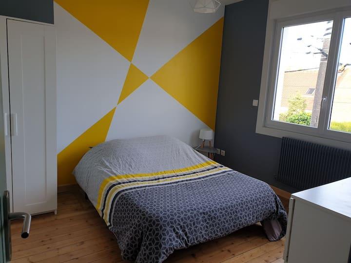 Chambre avec sdd et wc privatifs