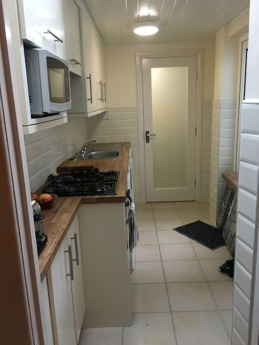 Kitchen - just recently renovated.