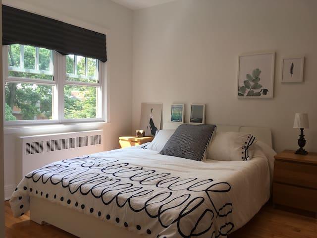 Suite privée avec 3 chambres dans Rosemont