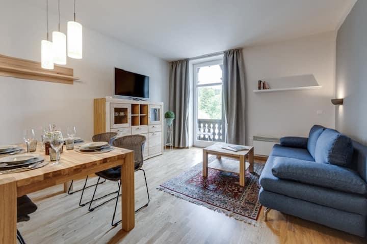 Herrenhaus am Erlaufsee (Sankt Sebastian), Appartement See-Komfort mit Balkon