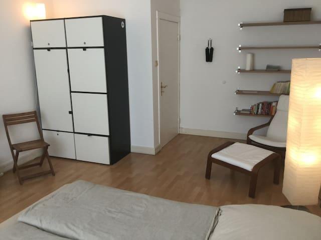 Tolles Zimmer Mitten in St. Georg