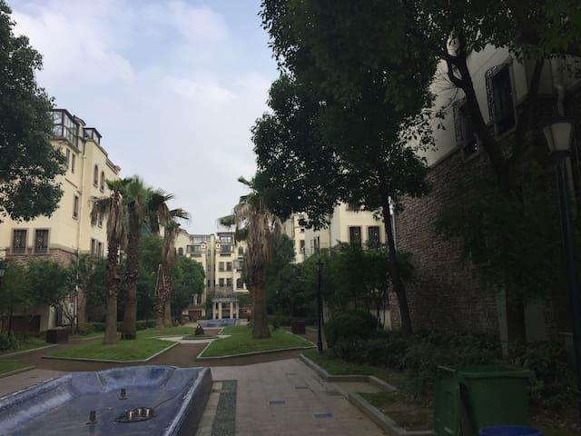 苏州名城山景 家庭奢华复式公寓 - Suzhou - Kondominium