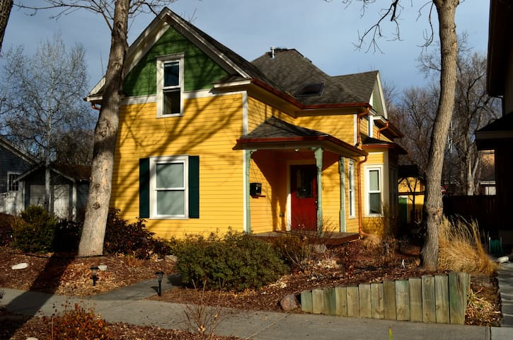 Victorian Cottage in the Heart of Old Town - Fort Collins
