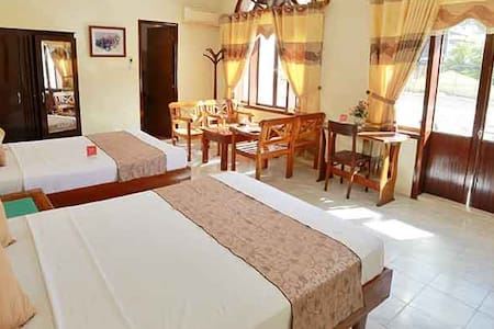 Balcony - A Large Family Room - in Heart of Hue - tp. Huế