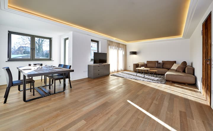 City Suites Murnau, hochwertige Suite mit Charme
