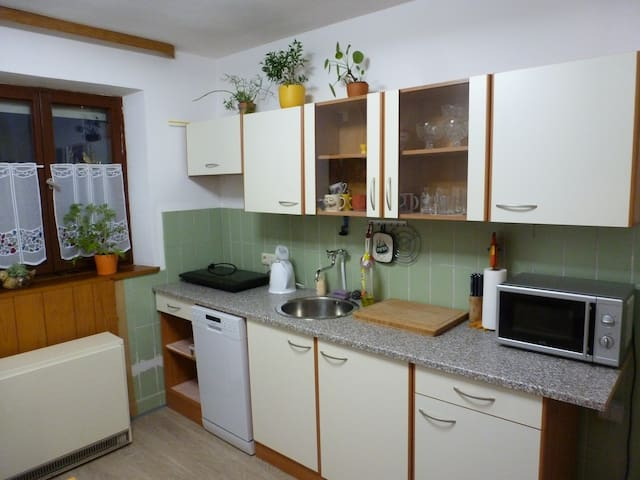 Simple cute little room in one-family house - Tapfheim - Casa