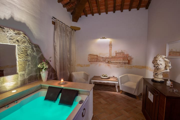 Suite Executive with Jacuzzi at Abbadia Sicille