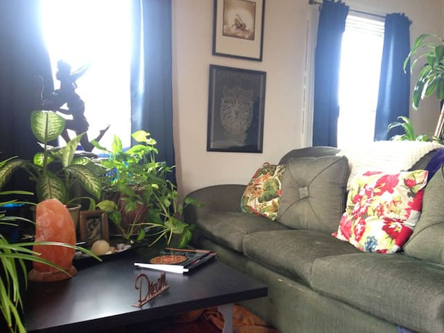 Sunny Apartment above cafe Fells Pt - Baltimore - Appartement