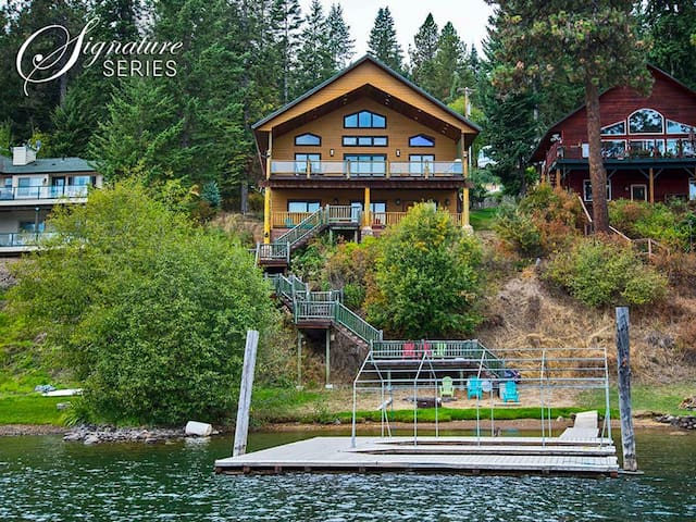 Sun-Up Bay Lodge | Waterfront Luxury with Private Beach and Dock
