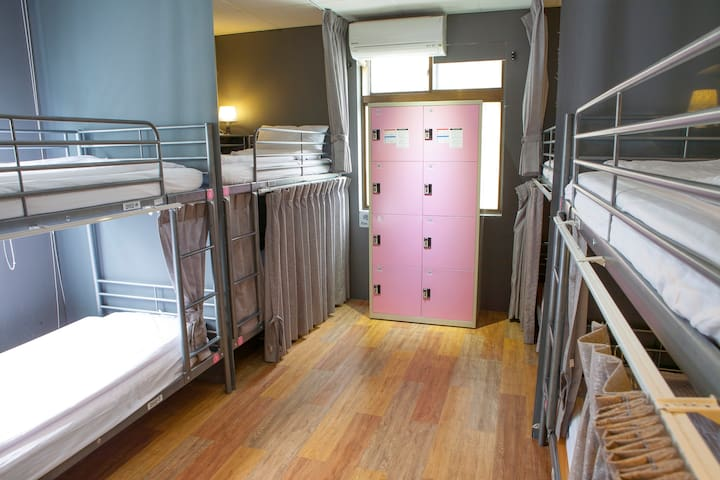 日月潭玥湖背包客讚民宿-女性背包客8人房(Female 8-bed Dormitory) - Yuchi Township - Minsu (Taiwan)