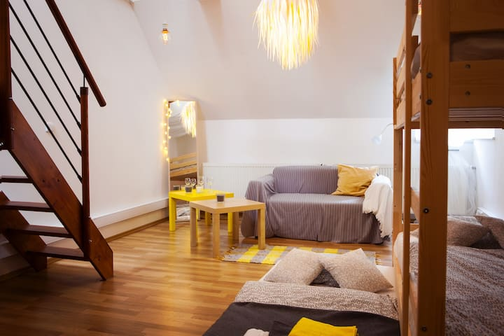 The sailor - comfy private room in the centre - Brno - Apartment