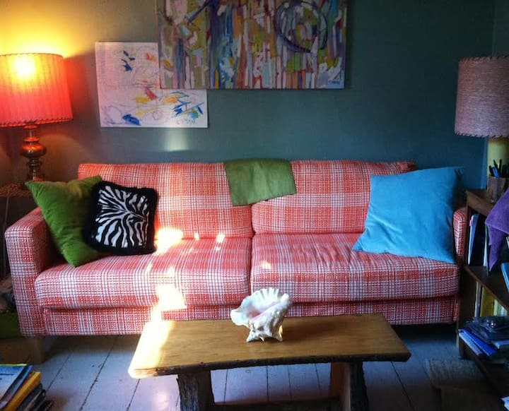 Funky Cottage w/ Cats! Old North End Eclecticism