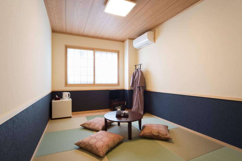 京都駅から徒歩5分!ポケットWi-Fiレンタル可。和室11㎡(3名定員)