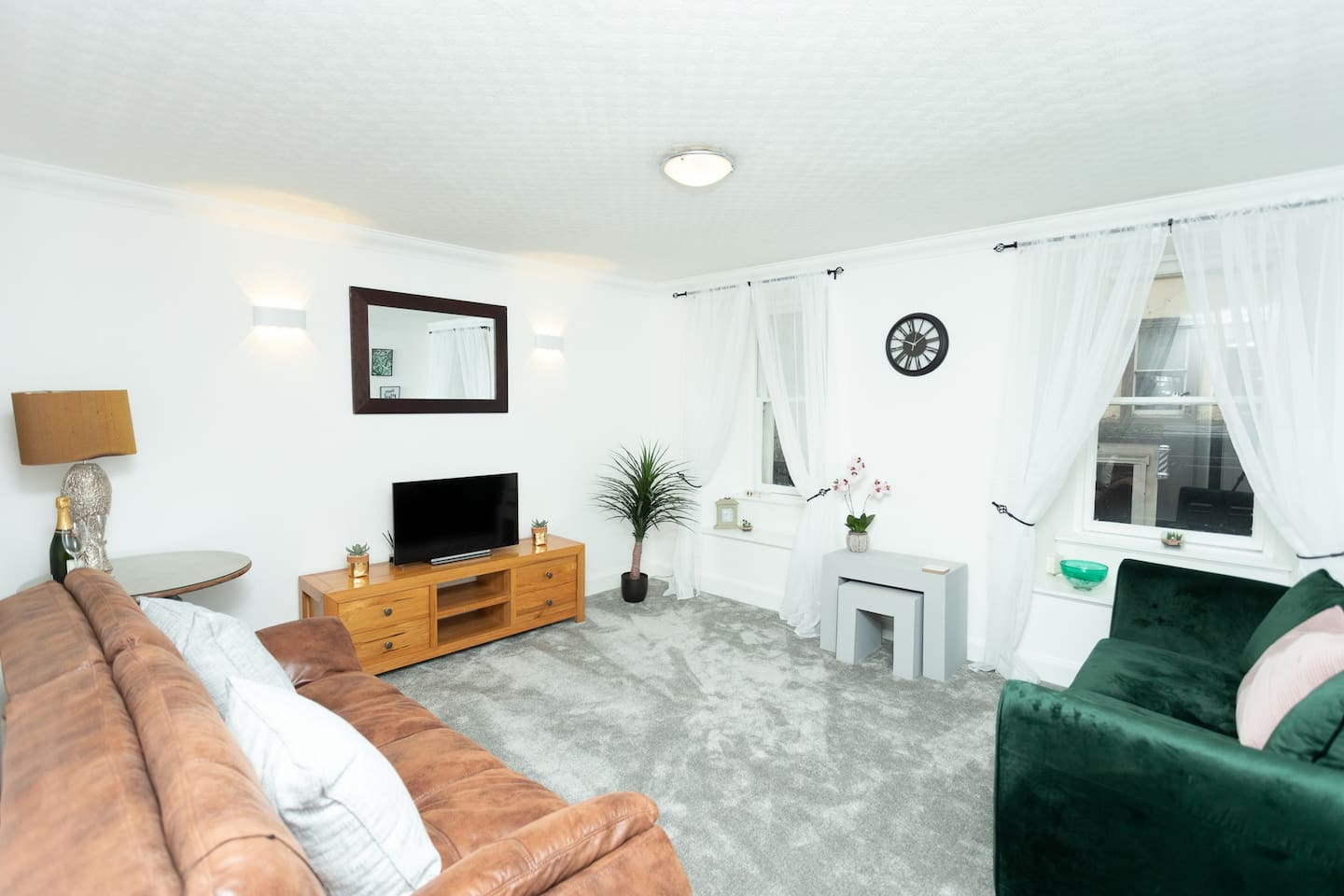 Relax in the spacious & comfortable lounge