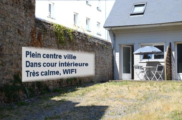 Maison Reinette, Avranches, au calme plein centre.