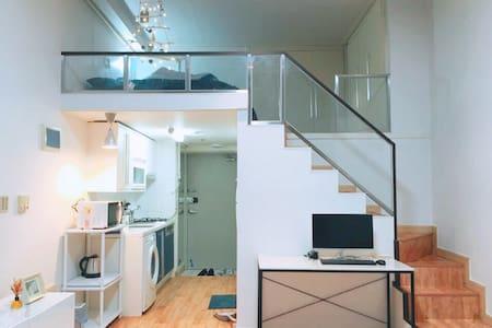 안산 Cozy House #중앙역 고잔역 10분 넓은 거실과 복층