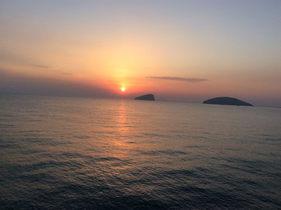 小平岛海上日出