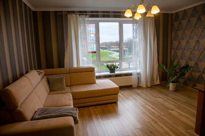 Уютная квартира на Балтийском побережье.