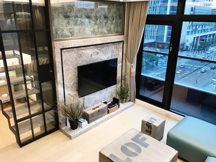 『 W101 Residence | Ambassador Suites Chelsea LOFT』