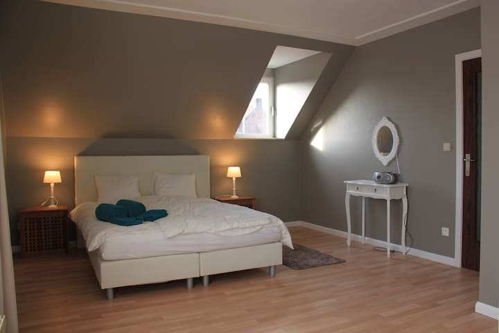 Big house near centre/free parking - Brugge - House