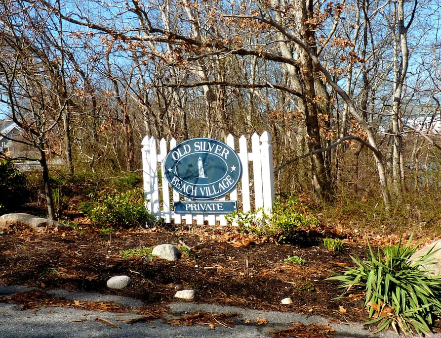 Entrance to Old Silver Beach Village