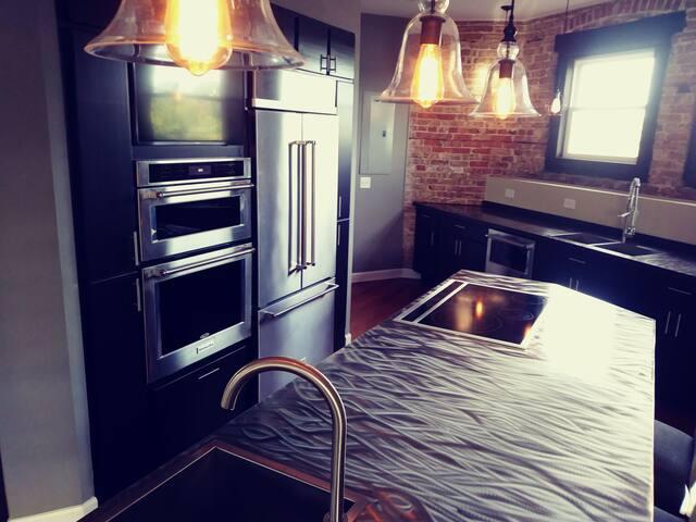 Very unique, loft style, single unit apartment.
