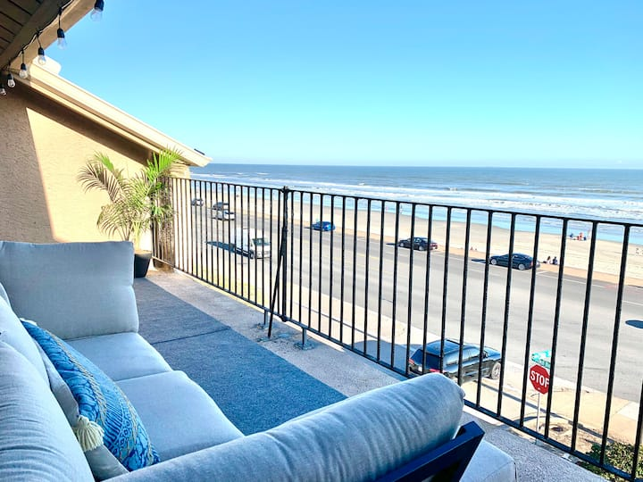 The Lemon House🍋|Ocean View|2 Bed/2 Bath|KING BED!