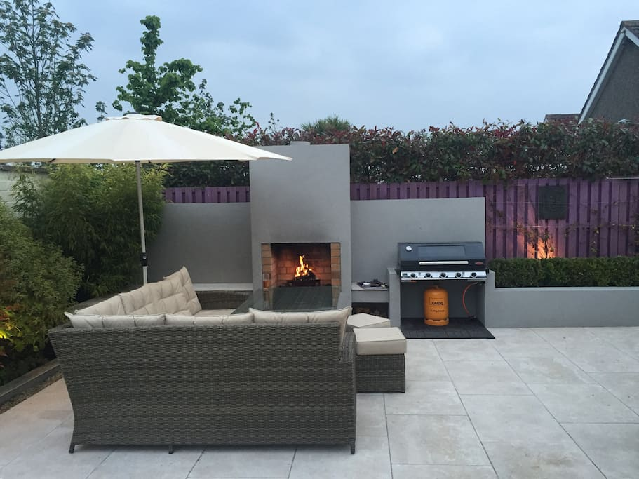 BBQ, Fire & Seating