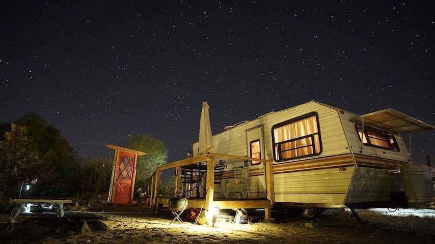 """The Rusty Outlaw""  near Joshua Tree National Park"