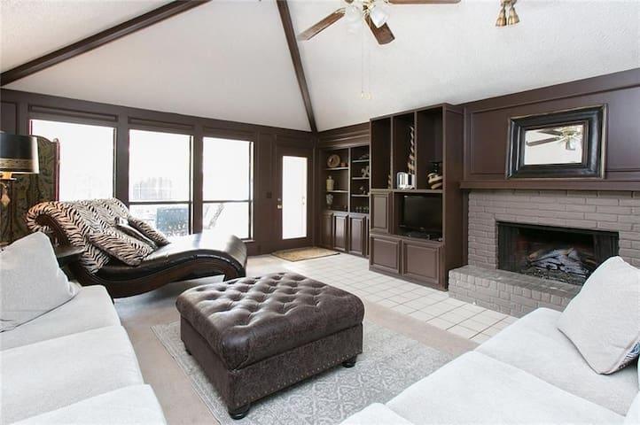 Open Living Room Space