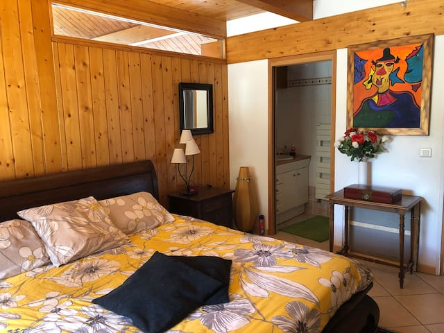 Jolie chambre proche CERN et Genève
