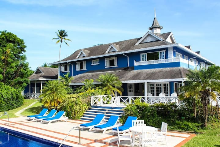 Large Caribbean Villa with Wonderful Pool & Views - Patience Hill - 別荘